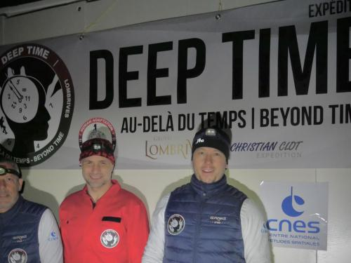 Photo de groupe CNES Deep Time